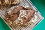 [Sourdough] Dark Molasses & Honey Bread