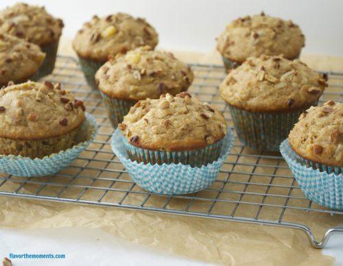 healthier-hummingbird-muffins5 | flavorthemoments.com