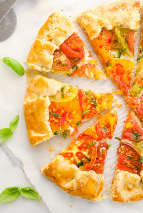 heirloom-tomato-galette-farmers-market-friday5 | flavorthemoments.com