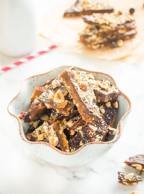dark-chocolate-hazelnut-english-toffee4 | flavorthemoments.com