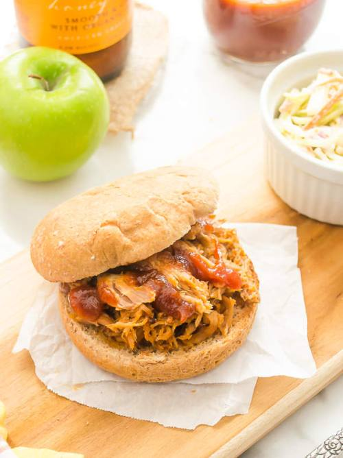 hard-apple-cider-pulled-pork-with-roasted-apple-barbecue-sauce5 | flavorthemoments.com