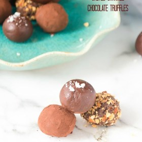 salted-caramel-chocolate-truffles1 | flavorthemoments.com