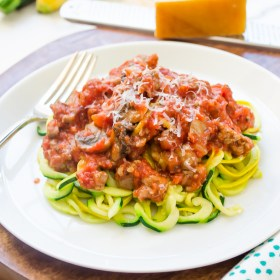 zucchini-and-yellow-squash-noodles-with-turkey-sausage-bolognese1-flavorthemoments.com