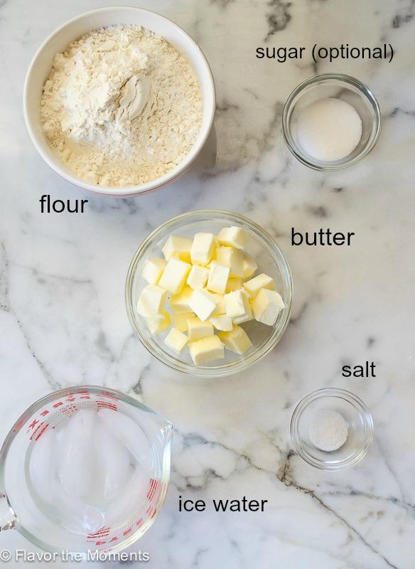 Quick & Easy Flaky Pie Crust | flavorthemoments.com