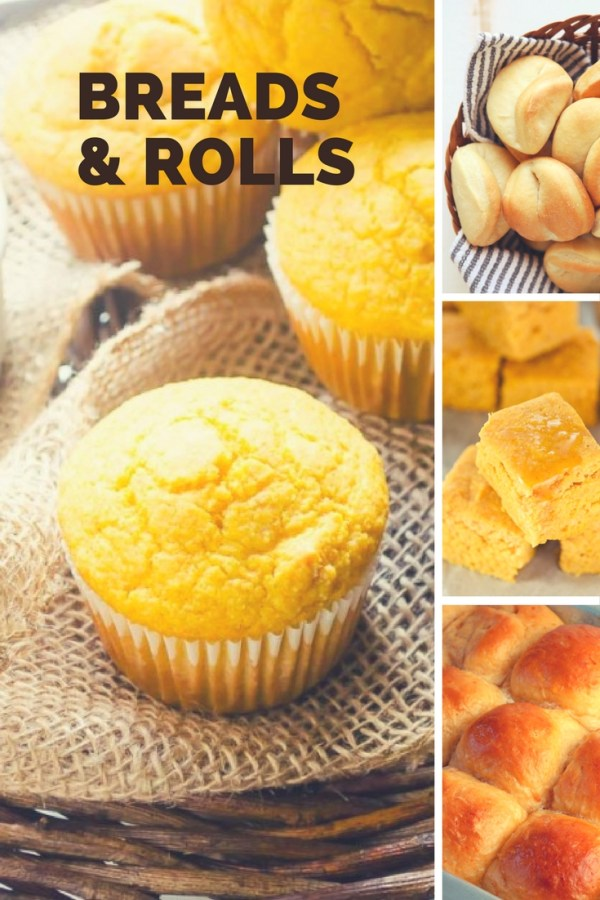 Ultimate Thanksgiving Breads and Rolls Recipes