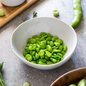 How To Cook Fava Beans is a step-by-step tutorial on the process involved in cooking fava beans.  They're tender, creamy, and one of spring's finest offerings!