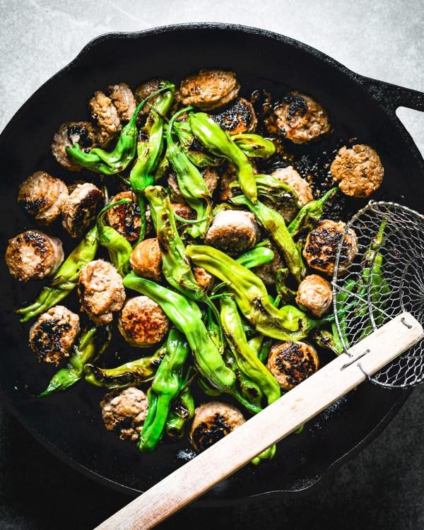 shishito-peppers-and-sausage-3