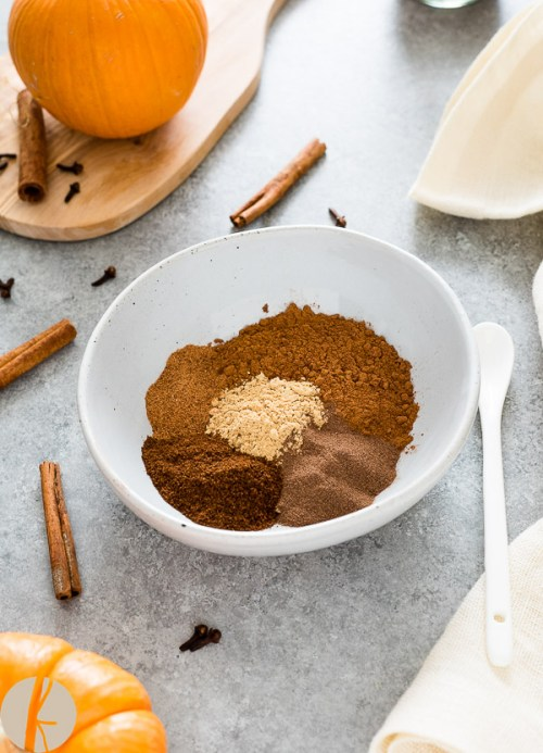 Homemade Pumpkin Pie Spice is the perfect blend of warm spices for amazing pumpkin pie, oatmeal, lattes and so much more!
