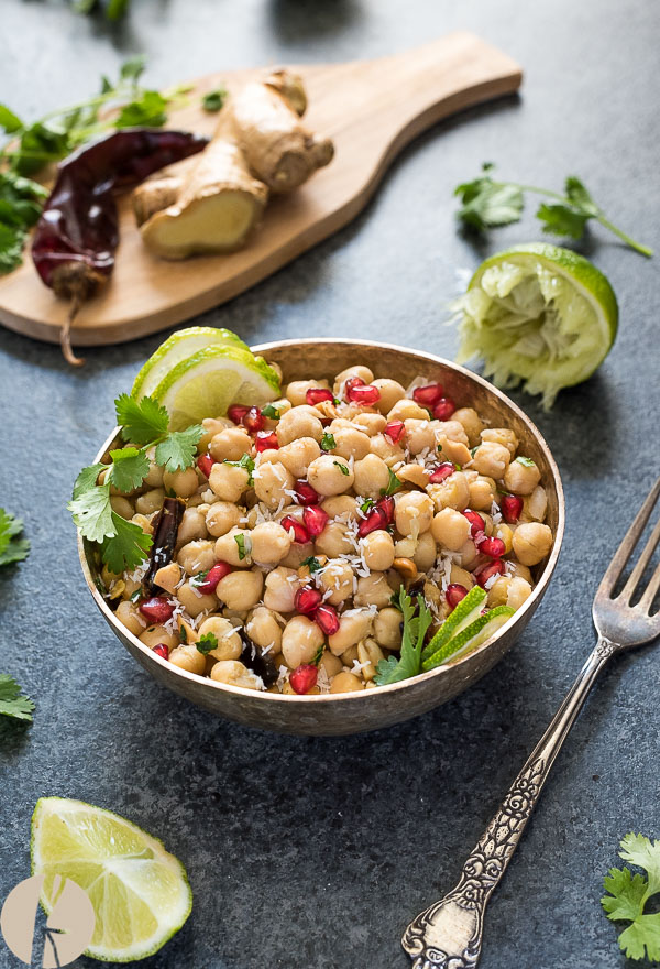 Instant Pot Spiced Chickpea Salad
