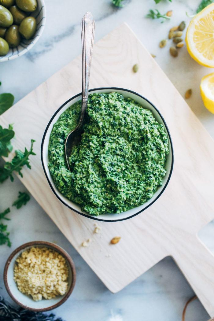 Vibrant Supergreen Pesto