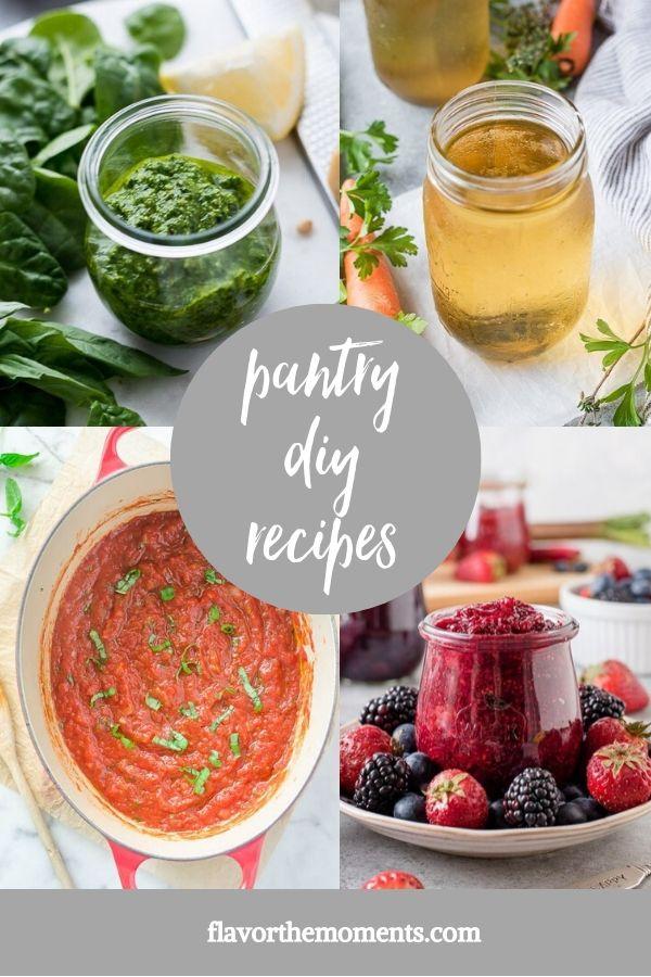 healthy pantry diy recipes