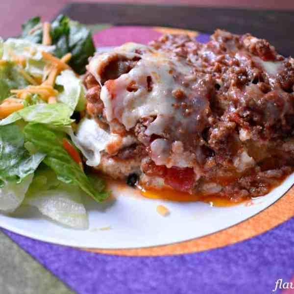 Easy Gluten Free Slow Cooker Lasagna