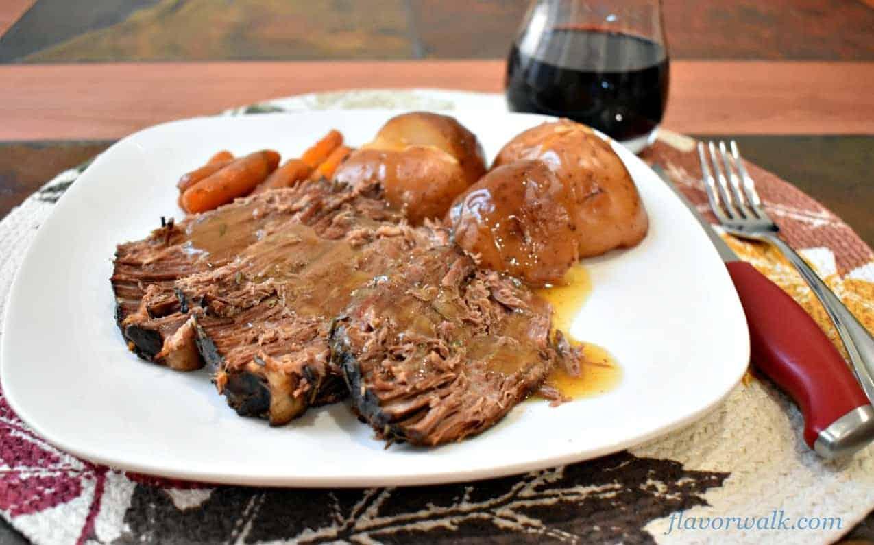slow cooker beef pot roast and vegetables, slow cooker pot roast, pot roast
