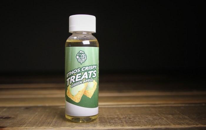 ethos green apple e-liquid