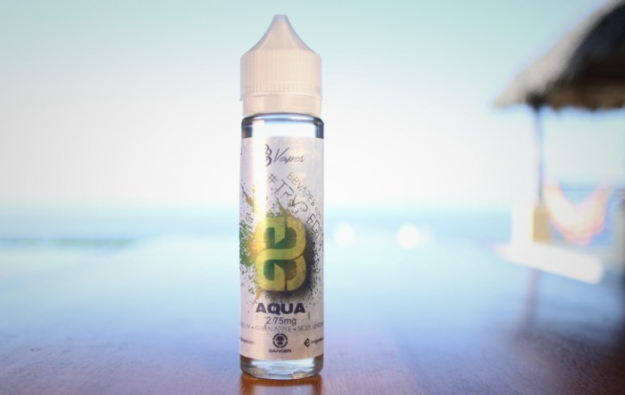 BB Aqua E-liquid Review