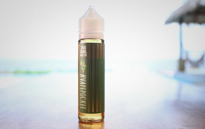 Vape Pockee Green Tea E-liquid