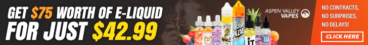 E-liquid deal at Aspen Valley
