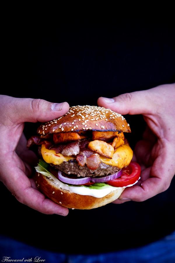 Wagyu Burger8.k