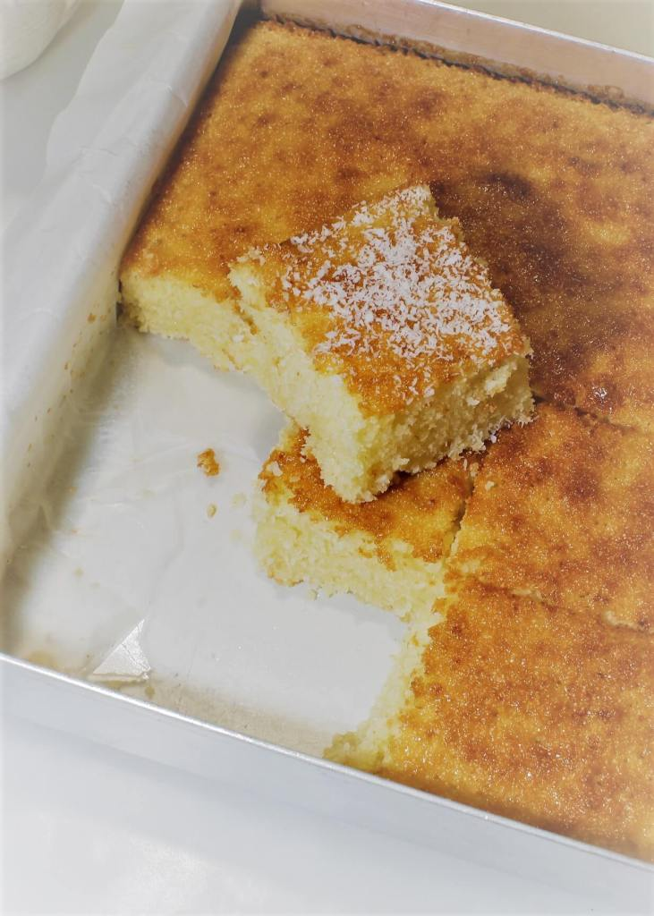 dessert recipe using desiccated coconut Desiccated Coconut Cake Recipe (Easy)  flavours of my kitchen