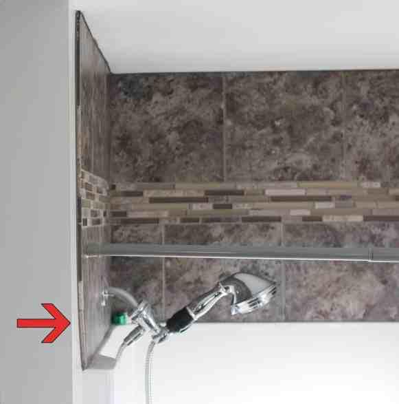 Tile Above Shower Pitfall