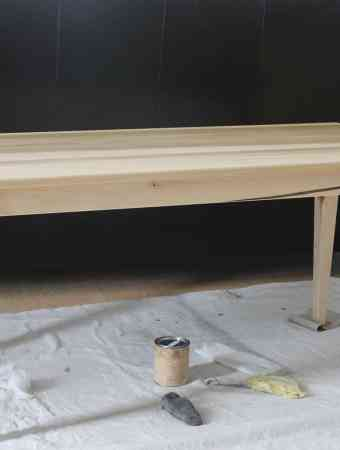 Finished Preschool Table