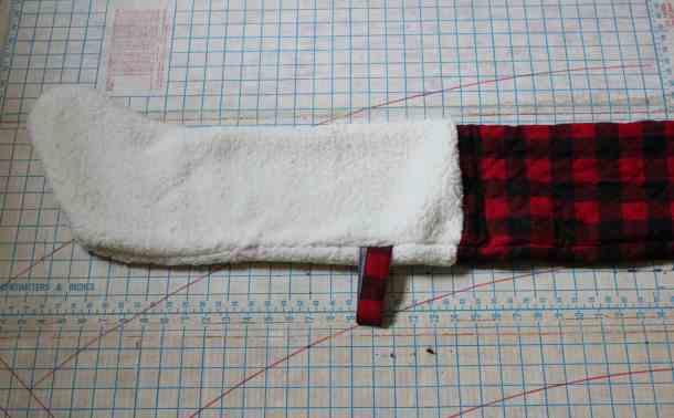 Stocking Hand Stitch