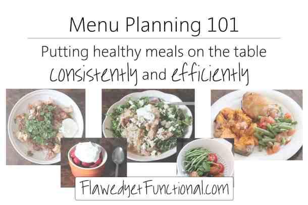 Healthy Menu Plan