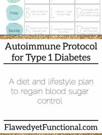 Autoimmune Protocol for Diabetics