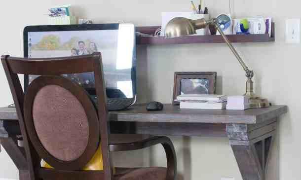 x desk for blogging