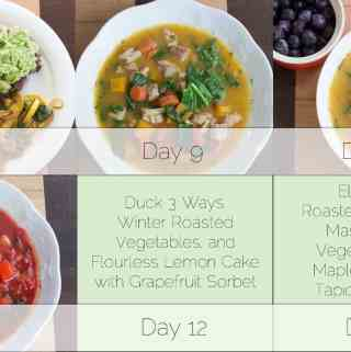 Week of Autoimmune Protocol Dinners