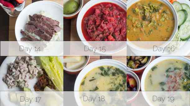 Autoimmune Protocol Week 3 Lunch