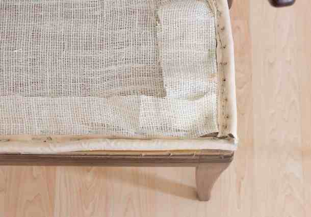 Edge Roll and Burlap Layer