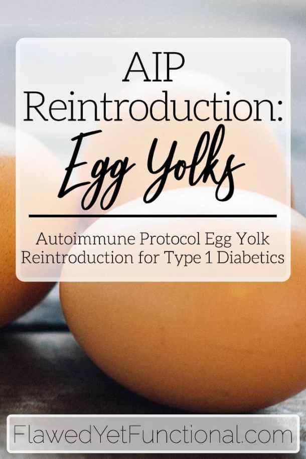 AIP Reintroduction Egg Yolks