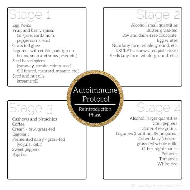Autoimmune protocol reintroduction phase guide