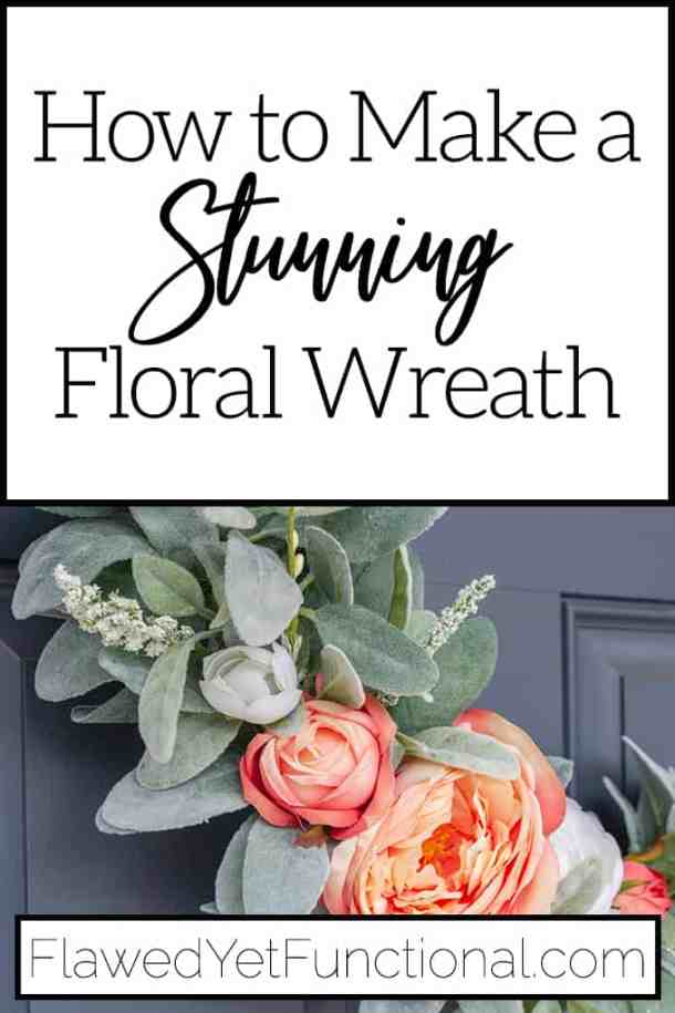 Asymmetrical Spring Wreath