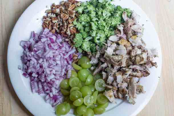 Paleo Chicken Broccoli Salad