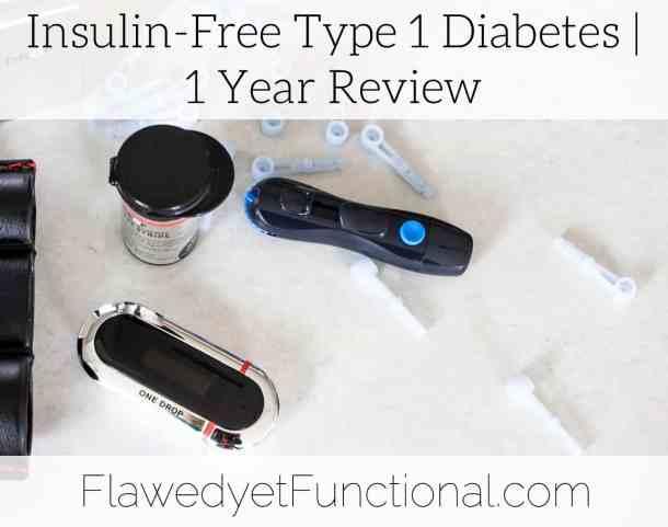 insulin free diabetes 1 year review