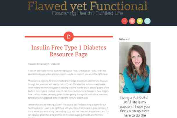 insulin free type 1 diabetes