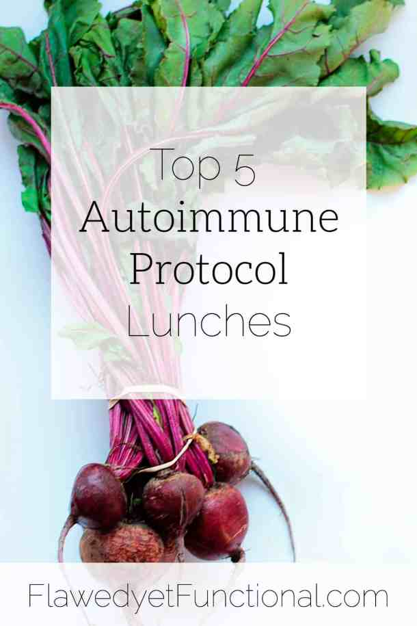 top 5 autoimmune protocol lunches