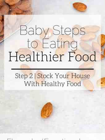 stock your house with healthy food