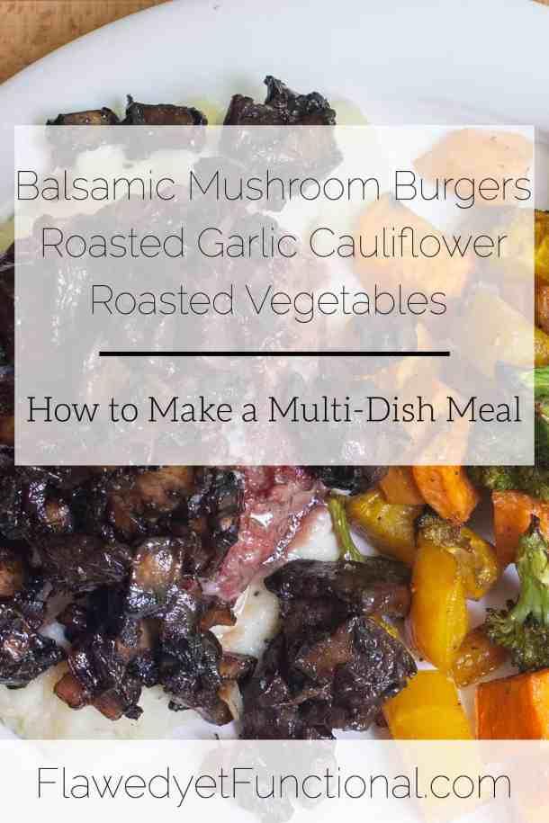 balsamic mushroom burgers