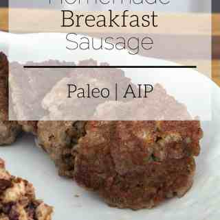 homemade breakfast sausage