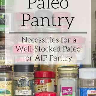 paleo pantry
