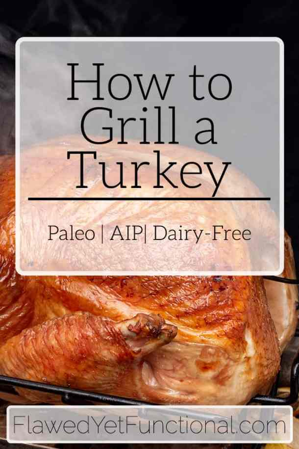 Charcoal Grill Turkey