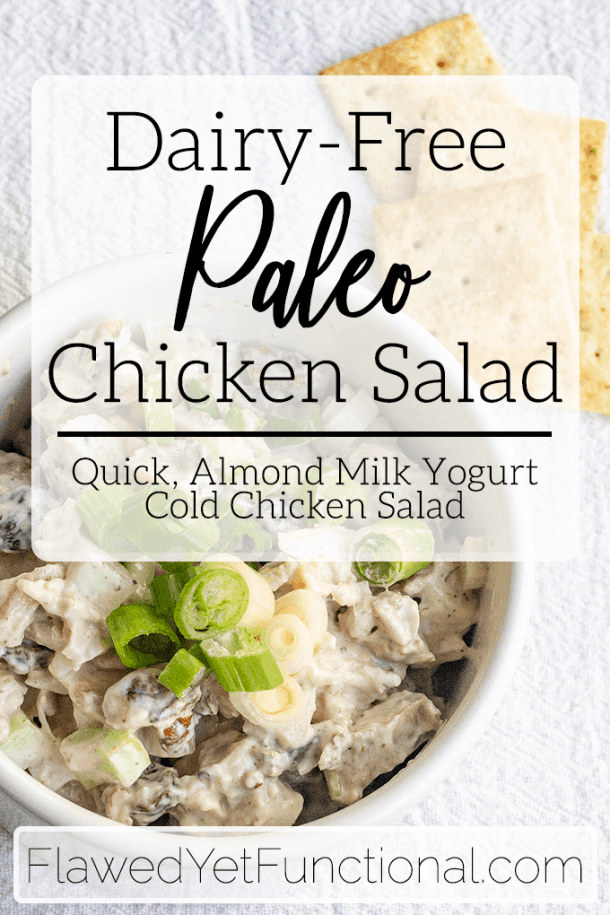 Dairy Free Paleo Chicken Salad