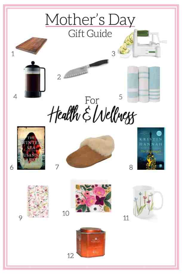 Mother's Day Gift Guide for the Health & Wellness Momma