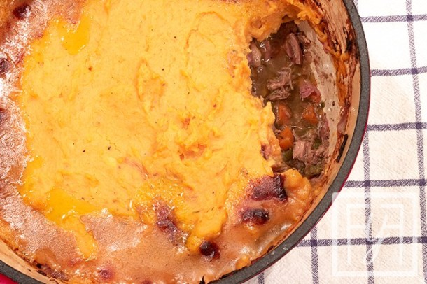 Paleo Turkey Shepherd's Pie from Thanksgiving Leftovers