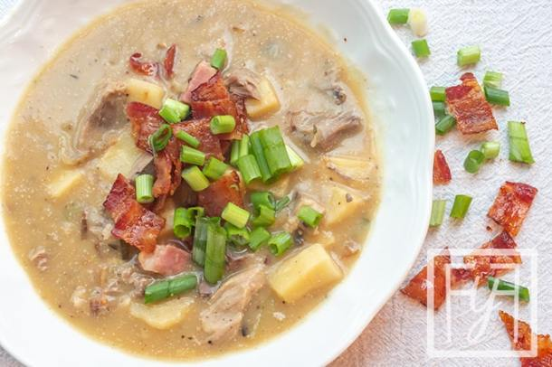 AIP Ham and Parsnip Soup