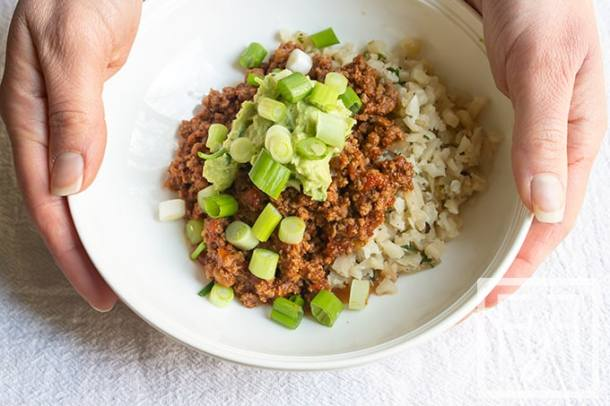 Best Easy Taco Bowl Keto Paleo