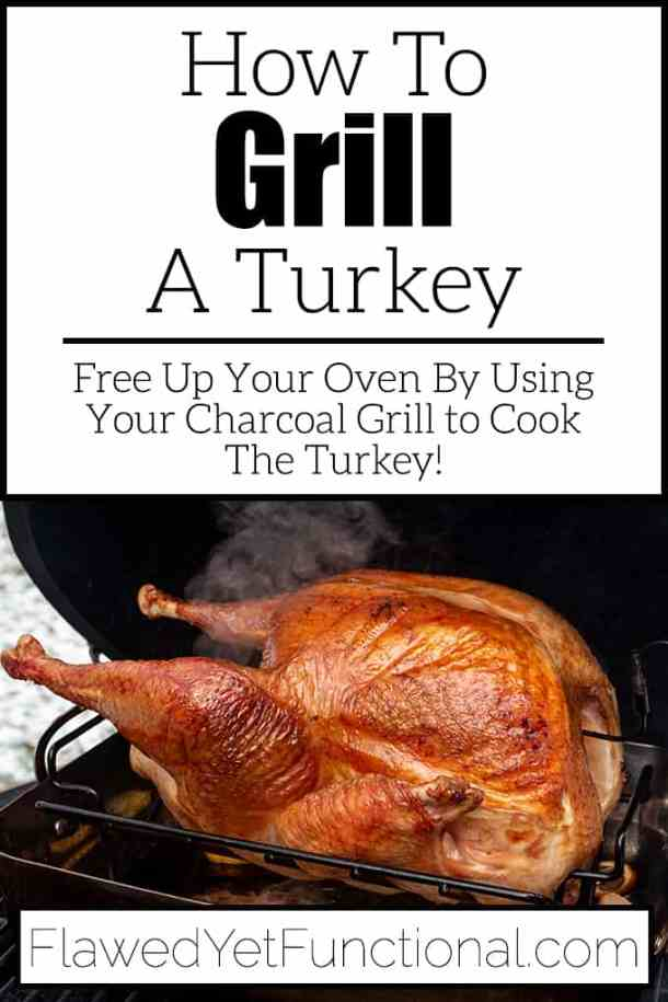 Charcoal Grilled Turkey